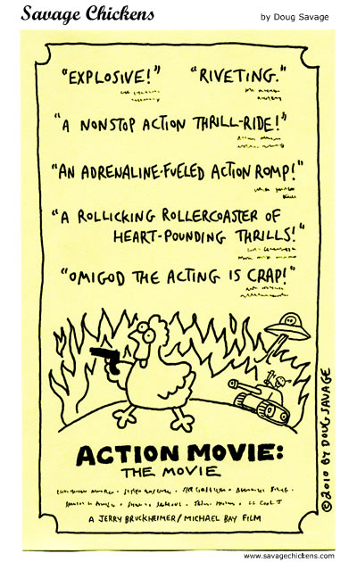 Savage Chickens - Action Movie